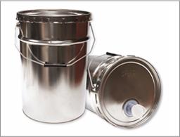 Envases metalicos con tapa pail